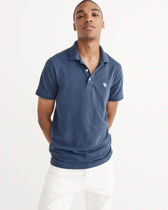 Abercrombie & Fitch Stretch Icon Polo