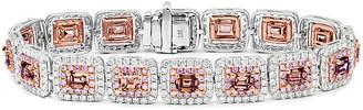 Diana M Fine Jewelry 18K 11.35 Ct. Tw. Diamond Bracelet