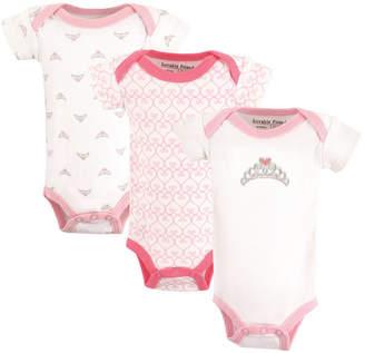 Baby Vision Luvable Friends Preemie Bodysuits 3-Pack, Premie