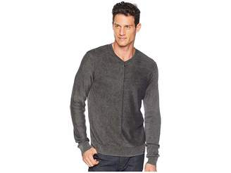 Lucky Brand Washed V-Neck Sweater