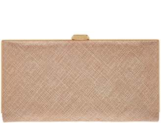 Lodis Italian Leather Frame Clutch w/ RFID - Quinn