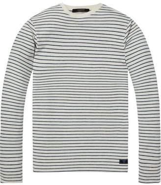 Scotch & Soda Linen Sweatshirt
