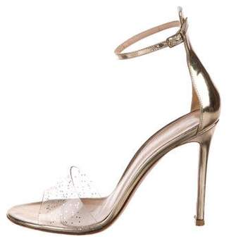 Gianvito Rossi Leather Ankle-Strap Sandals