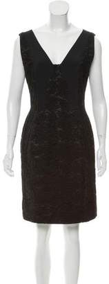 J. Mendel Sleeveless Lace Dress