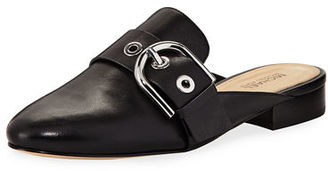 MICHAEL Michael Kors Cooper Vachetta Slide Flat Mule $145 thestylecure.com