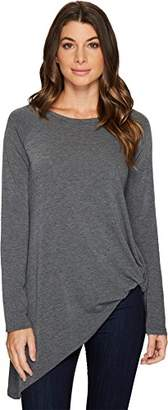 Karen Kane Women's Asymmetric Pick up Sweater