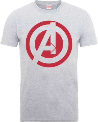 Marvel Avengers Assemble Captain America Logo T-Shirt