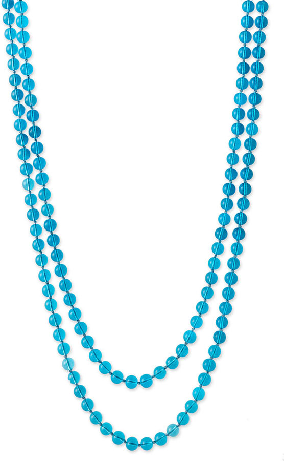 Nordstrom Extra Long Beaded Strand Necklace