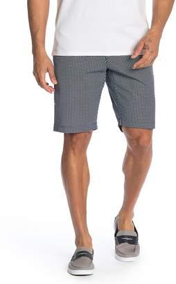 Ben Sherman Geometric Print Chino Shorts