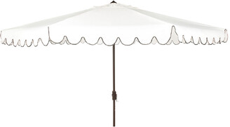 Safavieh Venice 11Ft Round Crank Umbrella