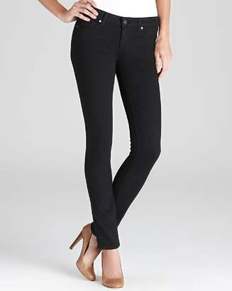 Paige Denim Jeans - Transcend Verdugo Ultra Skinny in Black Shadow