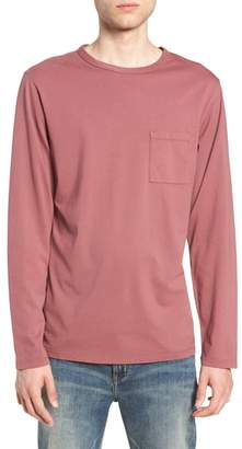 Saturdays NYC James Pima Long Sleeve Pocket T-Shirt