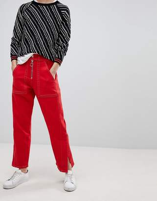 Whistles Limited Contrast Stitch Jean