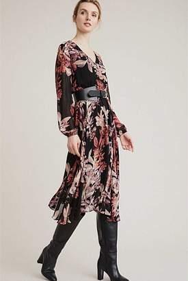 Witchery Long Sleeve Print Dress
