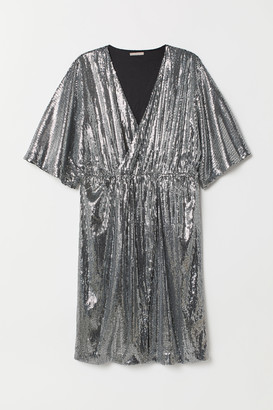 H&M H&M+ Sequined Dress