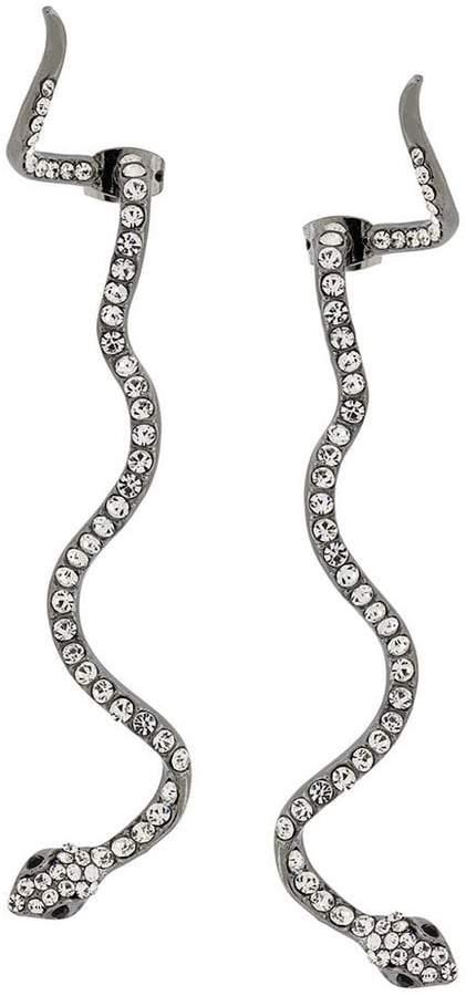 Federica Tosi snake earrings
