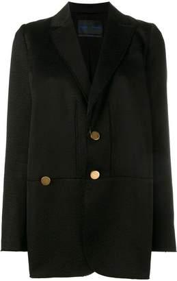 Proenza Schouler raw edge oversized jacket