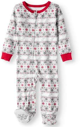 Fairisle printed pajama set