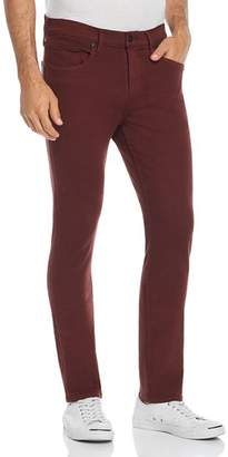 Paige Federal Slim Fit Jeans in Rustic Wine