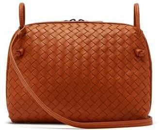 Bottega Veneta Olimpia Intrecciato Leather Shoulder Bag - Womens - Orange