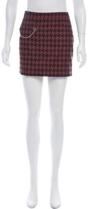 Stella McCartney Houndstooth Mini Skirt