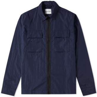 Mki MKI Nylon Zip Shirt Jacket