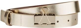 Vetements Metallic Bulldog Clip Belt