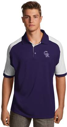 Antigua Men's Colorado Rockies Century Polo
