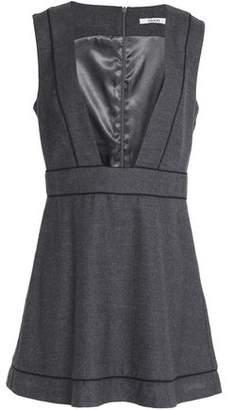 Ganni Wool And Cashmere-Blend Mini Dress