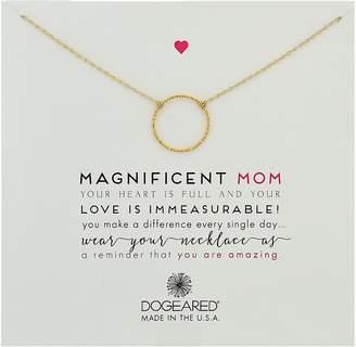 Dogeared Magnificent Mom, Little Sparkle Karma Necklace Necklace