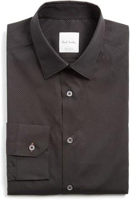 Men's Paul Smith London Extra Trim Fit Dot Print Dress Shirt $275 thestylecure.com