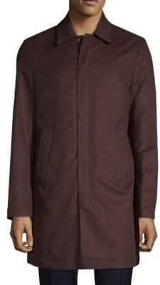 Valentino Classic Full-Zip Coat