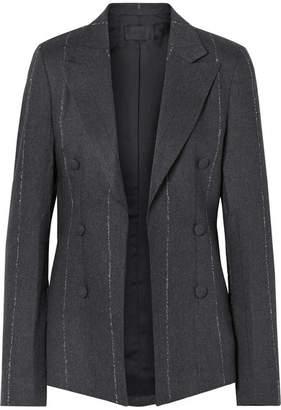 RtA Grayson Striped Cotton-blend Twill Blazer