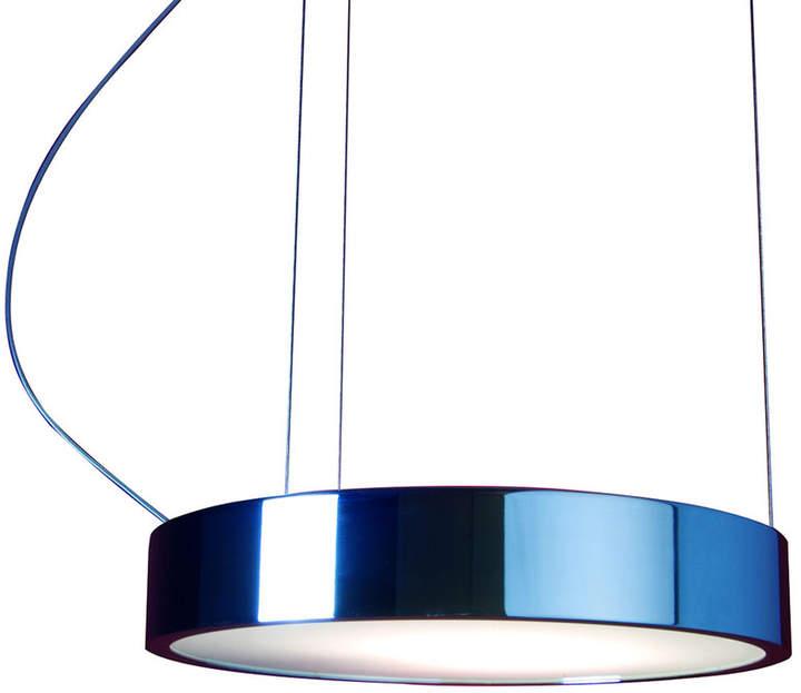 Absolut Lighting - Leuchte Aluring groß verChromt, 2er mit Einzel-Aufhängung