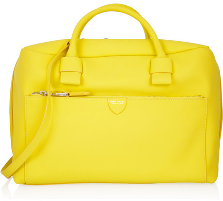 Marc Jacobs Antonia rubberized-leather tote