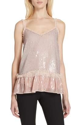 Needle & Thread Gloss Sequin Camisole