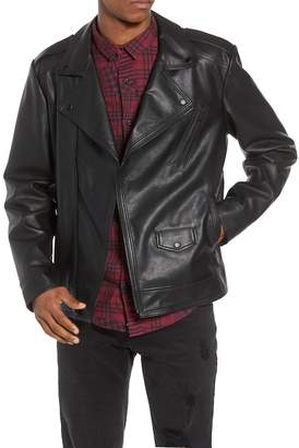 Moto The Rail Faux Leather Jacket