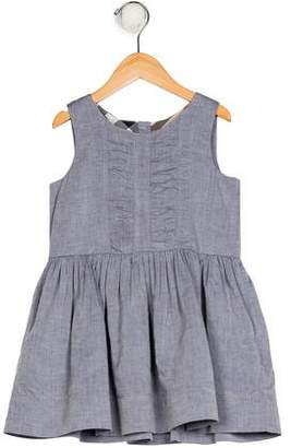Burberry Girls' Sleeveless A-Line Dress