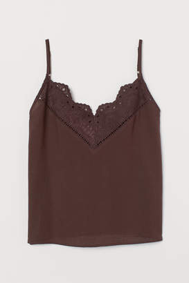 H&M V-neck Camisole Top