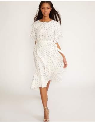 Cynthia Rowley Mini Rosebud Wallflower Wrap Dress
