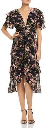 WAYF Miranda Tiered Ruffle Dress