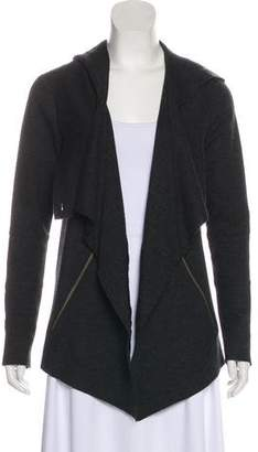 Yigal Azrouel Cut25 by Hooded Drape-Accented Cardigan