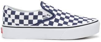 Vans checkerboard classic platform sneakers