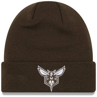 New Era Charlotte Hornets Fall Time Cuff Knit Hat
