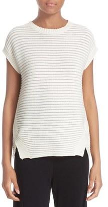 Women's Fuzzi Cap Sleeve Sweater $370 thestylecure.com