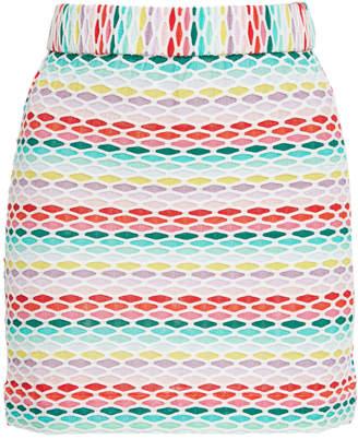Missoni Mare Printed Knit Mini Skirt