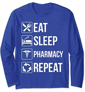 Funny Eat Sleep Pharmacy Repeat Sweatshirt