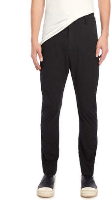 Poeme Bohemien Black Woven Slim Pants