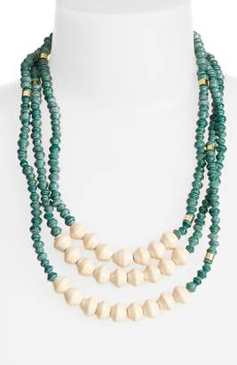 3.1 Phillip Lim Bits Emery Paper Bead Necklace