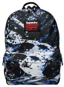Superdry Mainline Abstract Alpine Mountain Backpack